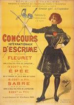 Offisiell plakat fra OL i Paris i 1900