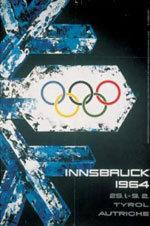 Offisiell plakat fra OL i Innsbruck i 1964.