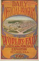 Offisiell plakat fra OL i St.Louis i 1904