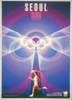 Offisiell plakat fra OL i Seoul i 1988.
