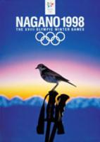 Offisiell plakat fra OL i Nagano 1998.