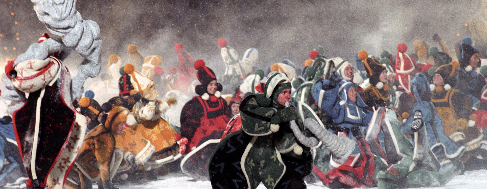 Vettene danser under OL på Lillehammer i 1994